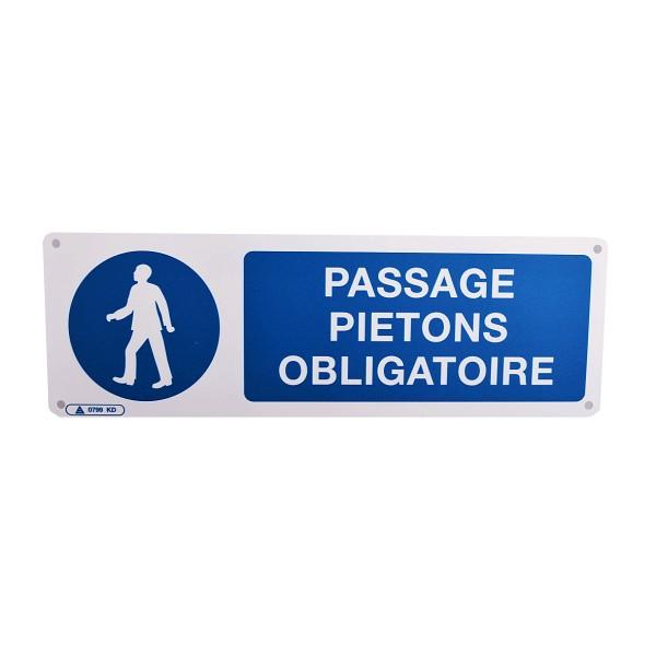 Panneau Passage Pitons Obligatoire Stocksignes