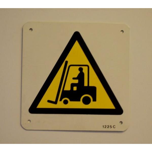 Etiquette Chariot De Manutention Picto Stocksignes