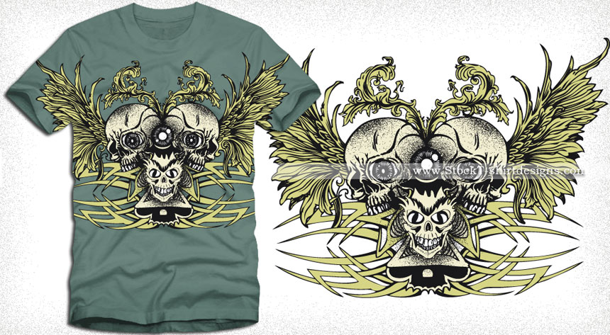 Royalty Free Vector T Shirt Designs Download T Shirt Design Illustrator StockT ShirtDesigns