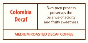 Colombia Decaf Portion Pack Coffee from Stockton Graham