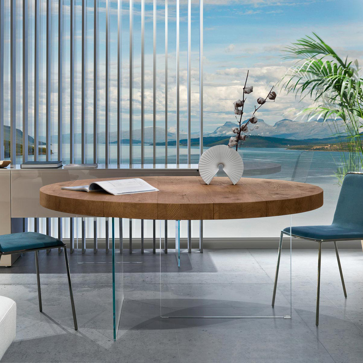 Lago Air Dining Table Round