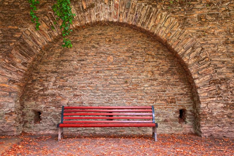 Old World Bench HDR Free Stock Photo By Nicolas