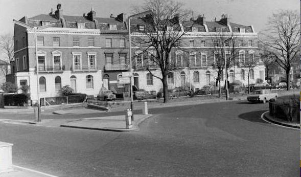Stockwell Terrace in c1968