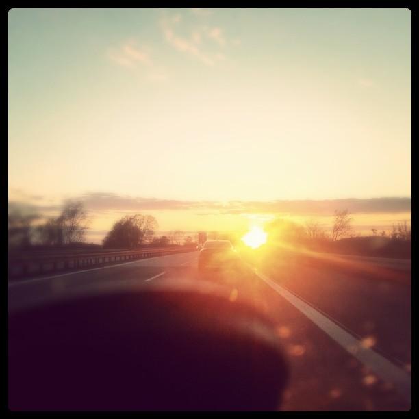 Und der Sonnenuntergang #A14