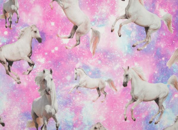 Digitaldruck White horses Jersey
