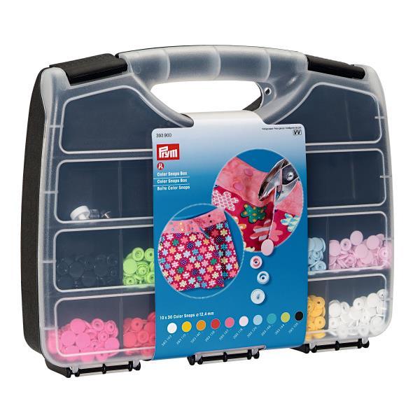 Prym Color Snap Box sortiert + Werkzeug  (Set)
