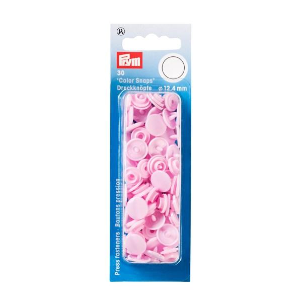 Prym Color Snaps rosa