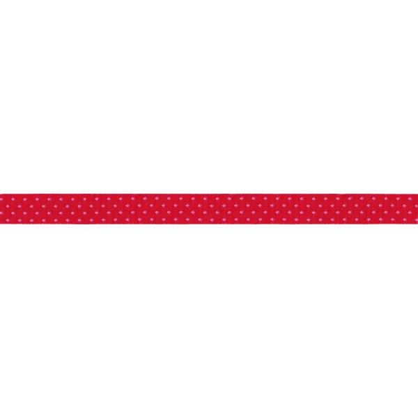 Prym Webband pink-rosa gepunktet, 15 mm