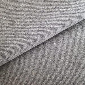 Strichloden 100% Schurwolle - Grau