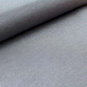 Stoffonkel Bio-Strick De-luxe in Jeansoptik grau