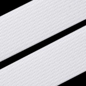 Gummiband gewebt weiß, 35mm