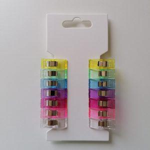 Stoffclips 2,7 cm, 14 Stück