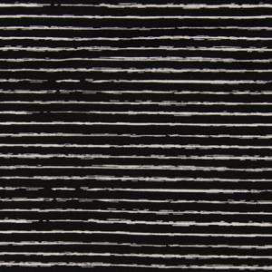 Baumwolle Stripe Schwarz