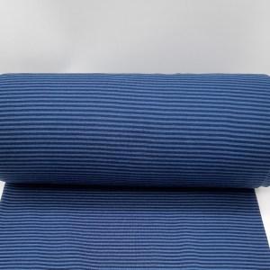 Ringelbündchen breit - Blau