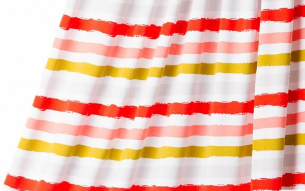 Sommerjersey Stripes, red