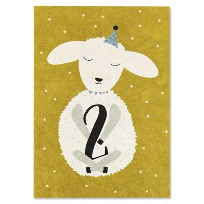 Stofftiger, Ava & Yves, Postkarte, Grußkarte, Karte, Glückwunschkarte, Klappkarte, Karte zur Geburt, Geburtskarte, Geburtsgeschenk, Glückwünsche, Baby, Zwillinge, Geburtstag