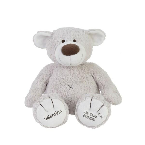 Kuscheltier, personalisiert, Stofftiger, Bär, Kuschelbär, Geschenk, Geburtsgeschenk, Taufgeschenk, Geschenkidee, Baby, Babygeschenk