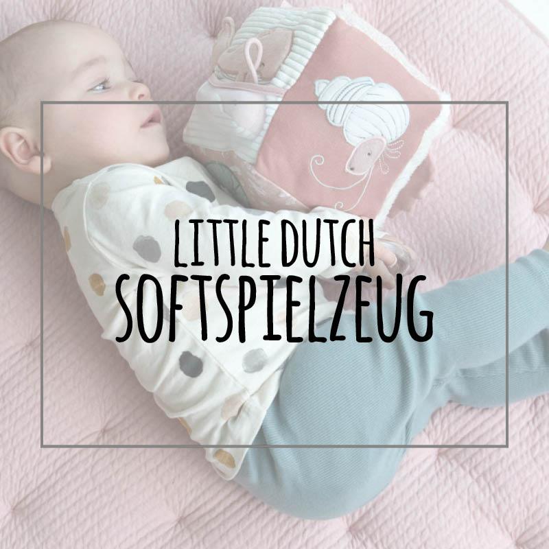 little dutch softspielzeug personalisiert, personalisierbar, kuscheltuch, motorikwürfel