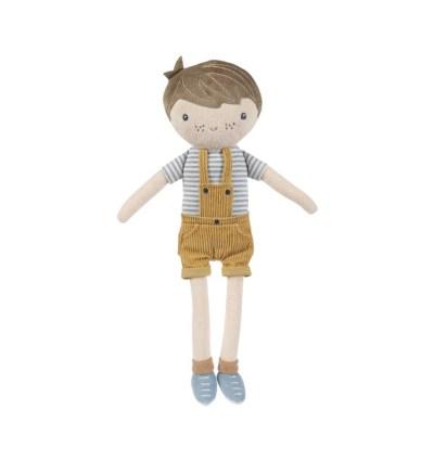 Kuschelpuppe Jim 35cm, Kuschelpuppe, Spielzeug, Little Dutch, Puppe