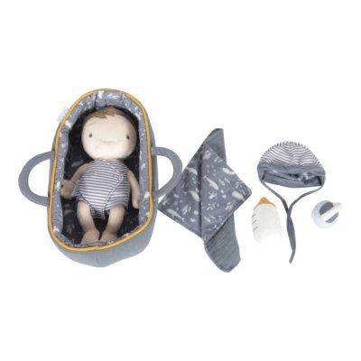Babypuppe Jim, Kuschelpuppe Jim, Kuschelpuppe, Puppe, Spielzeug, Little Dutch, Puppe