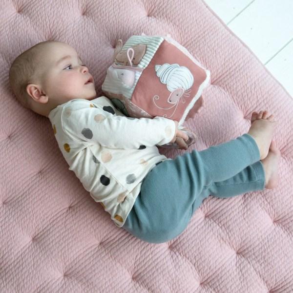 Aktivwürfel Soft, Aktiv Würfel, Ocean, Little Dutch, Stofftiger, Babywürfel, Babyspielzeug, Softspielzeug, Spielzeug, Kinderspielzeug