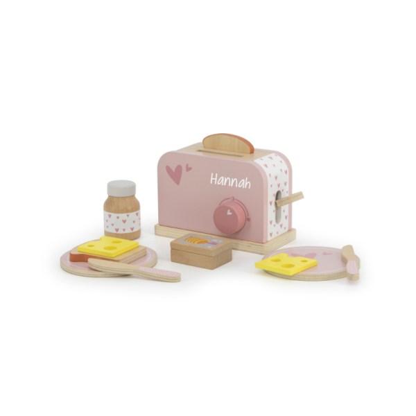 Holt Toaster, Küchenspielzeug, Holzspielzeug, Kinderspielzeug, personalisiertes Spielzeug, personalisiert, Geschenk, Geschenkidee, Stofftiger
