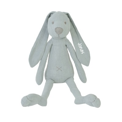 Kuscheltier Hase Richie Linen mint, Kuscheltier Plüschtier Schmusetier Hase, Kuscheltier, Happy Horse