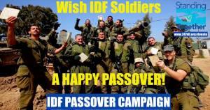 HAPPY PASSOVER IDF