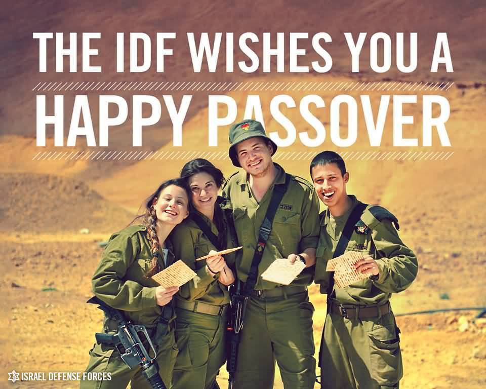 Help Soldiers Celebrate Pesach