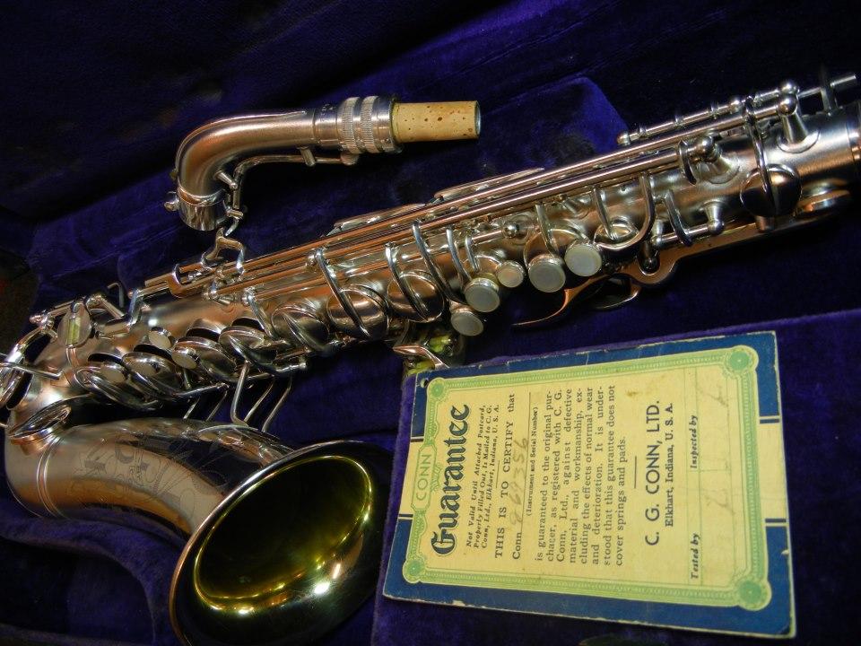 "Conn 6M ""Transitional"" Saxophones « Stohrer Music"