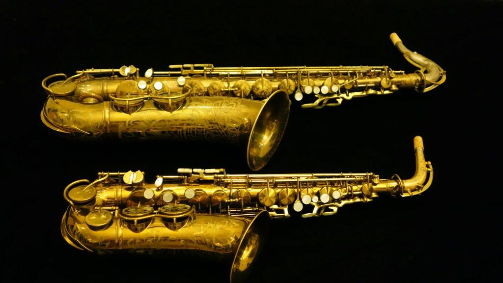 King Zephyr Special tenor and alto saxophones.