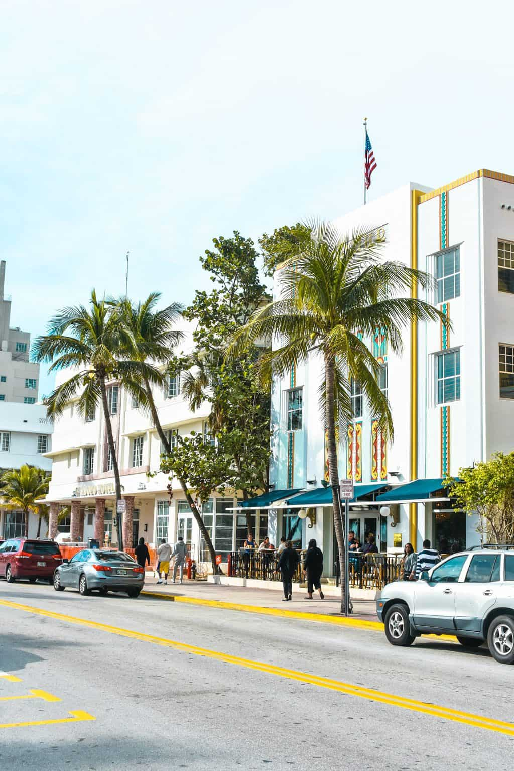 Art Deco on South Beach, Miami