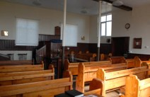 Inside the Zion Baptist Chapel
