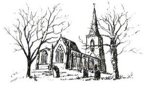 Sketch of the Church of St Margaret of Antioch