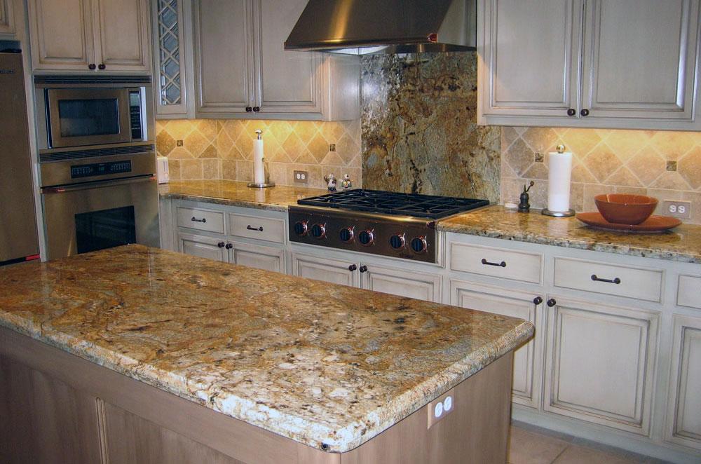 Kitchen Countertops | Stokes Granite & Stone on Granite Stove Backsplash  id=87115