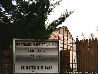 God Hates Zohner