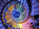 {112} Escalier - Exposition Viola - Paris