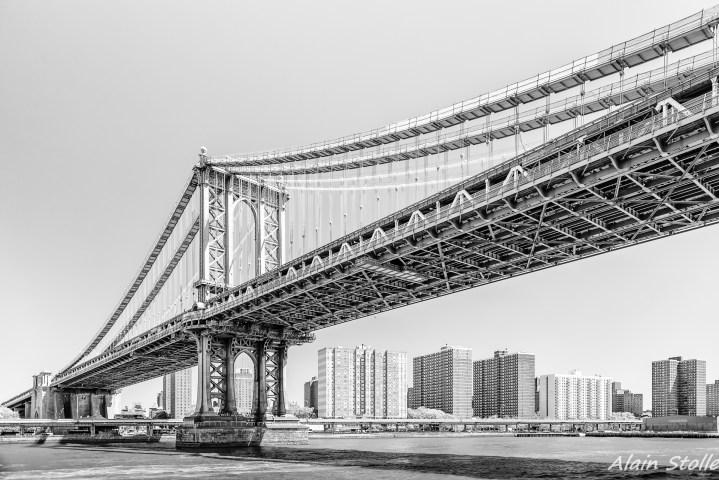 {014} Manhattan Bridge - New-York / 1901