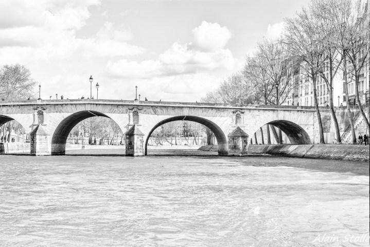 {003} Pont Marie - Paris / 1635 et 1786