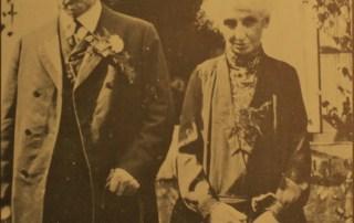 Joseph Andriesse (Kalvere Jöbke) en Carolina Kaufman.