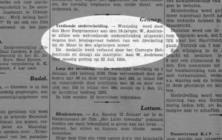 Walther Andriesse - Limburger Koerier, vrijdag 11 januari 1035