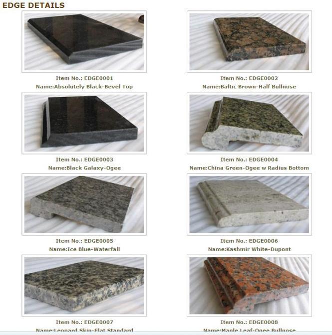 Millennium Home Design Wilmington Nc: Edge Granite Countertops