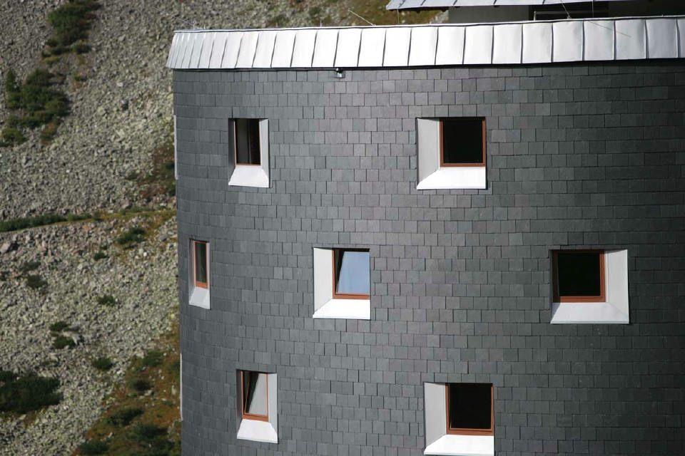 Architektur Ideen Fur Fassaden Mit Stein Und Anderen Materialien 6