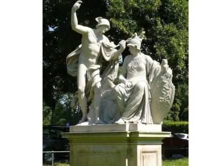 ... Zustand nach der Restaurierung. Standort: Blüherpark, Dresden.