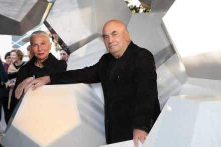 Doriana and Massimiliano Fuksas.