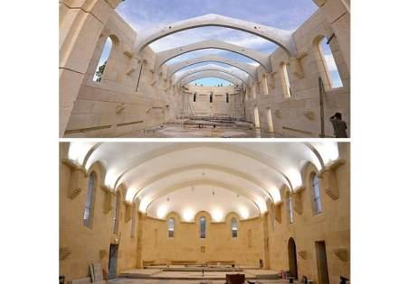 A capela do mosteiro Saint-Joseph em Puimisson.