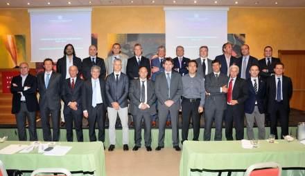The new board of Confindustria Marmomacchine.
