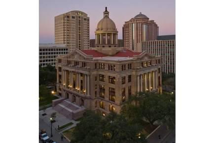 Harris County Courthouse a Houston, Texas.