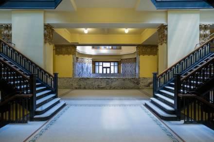 """Als """"Juwel des Südens"""" wurde das Harris County Courthouse in Houston, Texas bei seiner Fertigstellung im Jahr 1910 bezeichnet."""