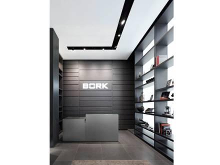 """""""Il mondo dei prodotti di Bork è di forte connotazione maschile """", si legge in un comunicato stampa."""